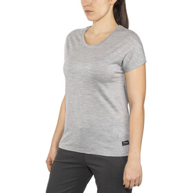 Bergans Oslo Wool T-paita Naiset, grey melange